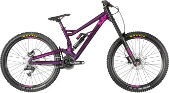 "Bergamont Straitline 7.0 650B/27.5"" MTB bike aubergine/black/pink (shiny) model 2018"