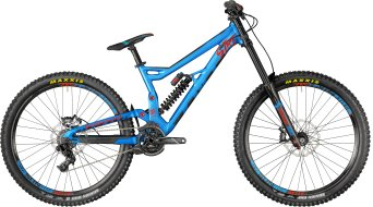 "Bergamont Straitline Elite 650B/27.5"" MTB bike coral blue/black/red (mat) model 2018"