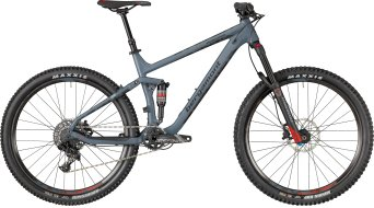 "Bergamont Trailster 7.0 650B / 27.5"" MTB Komplettbike steelblue/black/red (matt/shiny) Mod. 2018"