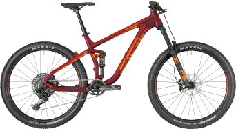 "Bergamont Trailster Elite Carbon 650B / 27.5"" MTB Komplettbike bordeaux red/orange Mod. 2018"