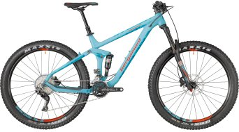 "Bergamont Trailster 8.0 Plus 650B+/27.5""+ MTB bici completa . coral blue/petrol/red (opaco) mod. 2018"