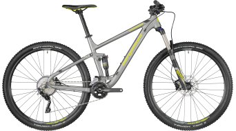"Bergamont Contrail 5.0 29"" MTB bike silver/black/lime (mat) model 2018"