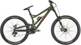 "Bergamont Straitline 7.0 27.5""/650B MTB bici completa . mud green/black/red (opaco) mod. 2019"