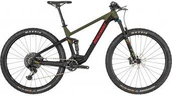 "Bergamont Contrail Elite 29"" MTB bici completa mud verde/negro/rojo (color apagado) Mod. 2019"