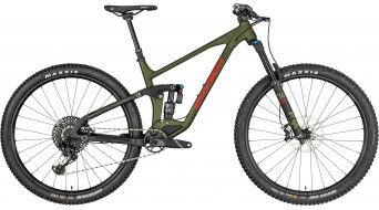 "Bergamont Trailster 10.0 29"" MTB bike mud green/black/red (matt) 2019"