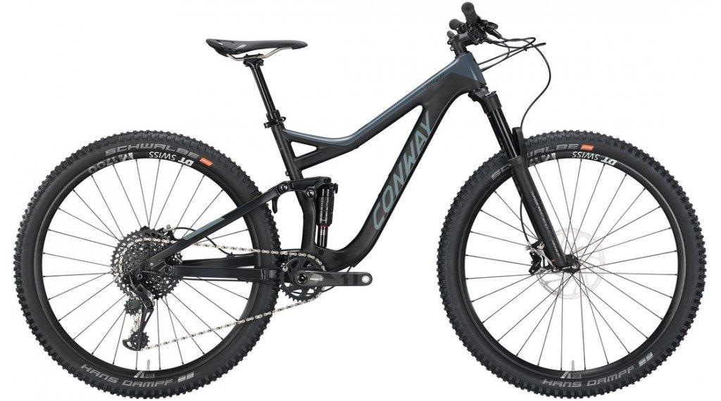 "Conway WME 929 Carbon 29"" MTB Komplettrad Gr. S black matt/grey Mod. 2019"