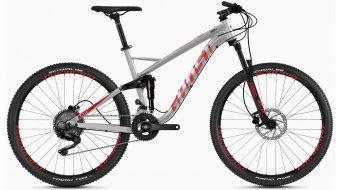 "Ghost Kato per 2.7 AL U 27.5"" MTB bici completa . iridium argento/riot rosso/jet nero mod. 2020"
