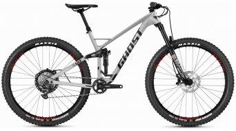 "Ghost SLAMR 6.9 LC U 29"" MTB(山地) 整车 型号 XL iridium silver/jet black/riot red 款型 2020"