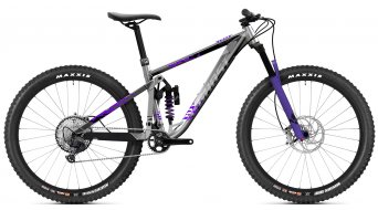 Ghost Riot Trail Full Party 29 MTB bici completa . grigio purple mod. 2021