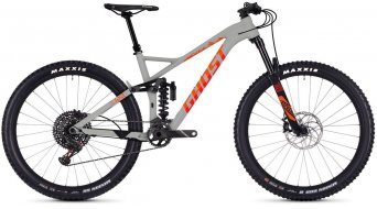 "Ghost SLAMR 8.7 AL U 27.5"" MTB Komplettrad Gr. S smoke gray/neon red/monarch orange Mod. 2019"