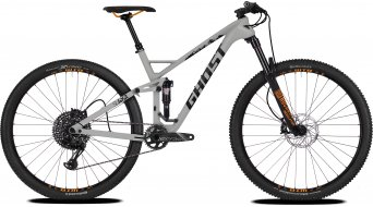 "Ghost SL AMR 6.9 LC and 29"" MTB bike smoke gray/night black/juice orange 2018"