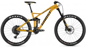 "Ghost FRAMR 8.7 AL and 27.5""/650B MTB bike spectra yellow/night black 2019"
