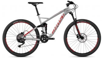 "Ghost Kato FS 2.7 AL en 27.5"" MTB fiets iridium silver/riot red/jet black model 2019"