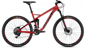 "Ghost Kato FS 3.7 AL en 27.5"" MTB fiets riot red/night black model 2019"