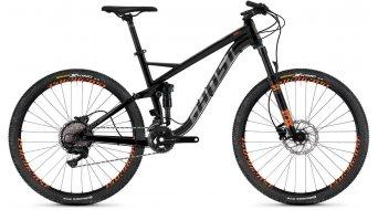 """Ghost Kato FS 5.7 AL and 27.5"""" MTB bike night black/titanium gray/monarch orange 2019"""