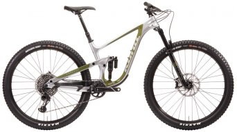 "KONA Process 134 CR-DL 29"" MTB bike size M Chrome-silver/olive 2020"