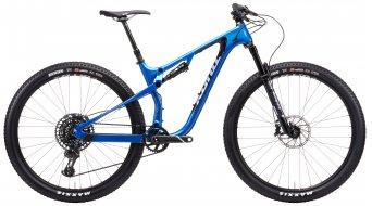 Kona Hei Hei CR/DL 29 MTB bici completa tamaño S gloss metallic alpine azul Mod. 2021
