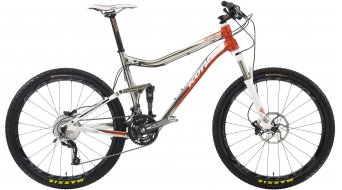 KONA 2+2 bike silver/orange 2012