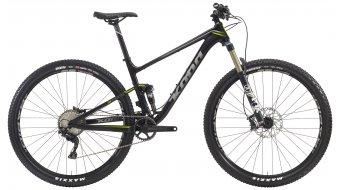 KONA Hei Hei Deluxe Trail 29 bike size S black/silver/lime 2016