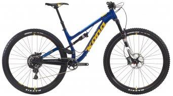 KONA Process 111 DL 29 bike navy/yellow/blue 2016