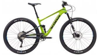 KONA Hei Hei Deluxe carbon 29 bike green model 2017