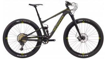 KONA Hei Hei Supreme carbon 29 bike black/green 2017