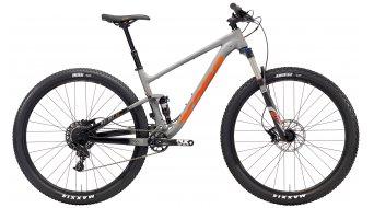 "KONA Hei Hei AL 29"" bike matt grey & black/black, grey & orange decals 2018"