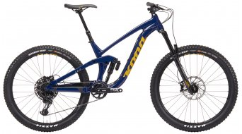 "KONA Process 153 DL 27,5"" Enduro fiets saphire blue model 2019"