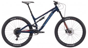 "KONA Process 153 SE 27,5"" Enduro fiets midgnight blue model 2019"