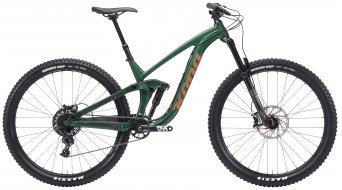 "KONA Process 153 29"" Enduro fiets racing green model 2019"