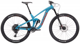 "Kona Process 153 DL 29"" Enduro bici completa Gloss Dirty Aqua/Charcoal/Pale amarillo/Brick pegatina(-s) Mod. 2019"