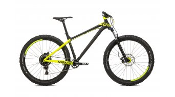 NS Bikes Eccentric Djambo 1 27,5+ bike size M dark raw/fluo yellow 2017