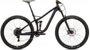 NS Bikes Snabb Plus 1 29/27.5+ Komplettbike Gr. M black Mod. 2017