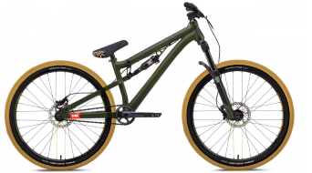 "NS Bikes Soda Slope 26"" vélo taille unique Army green Mod. 2018"