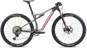 Orbea Oiz M-Pro 29 MTB bici completa mis. L matte anthracite glitter/gloss coral mod. 2021