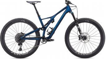"Specialized Stumpjumper Expert Carbon 29"" MTB Komplettrad Gr. S gloss navy/white mountains Mod. 2020"