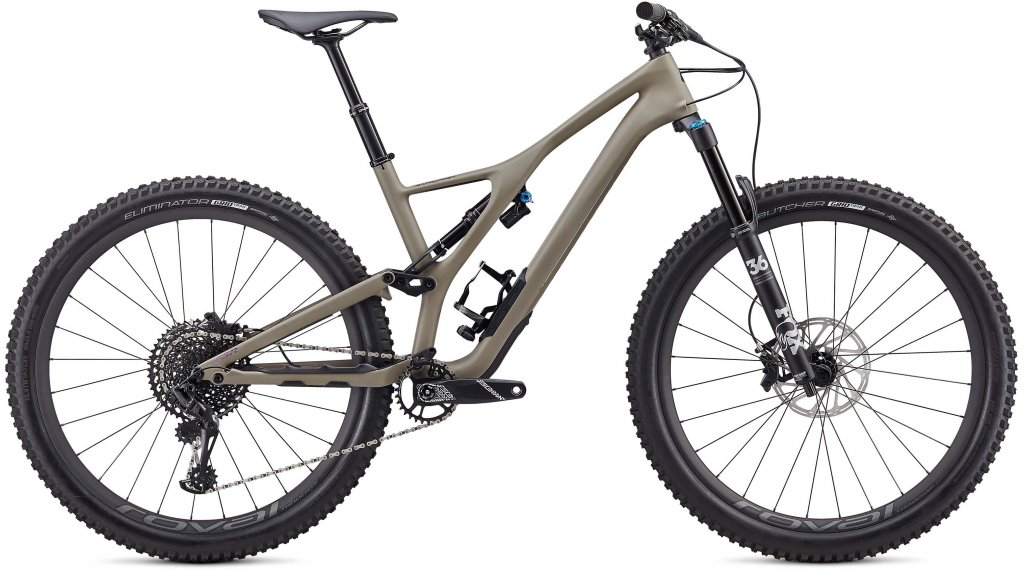 "Specialized Stumpjumper Expert Carbon 29"" MTB Komplettrad Gr. S satin taupe/sunset Mod. 2020"