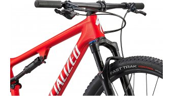 Specialized Epic Comp 29 MTB Komplettrad Gr. M gloss flo red/red ghost pearl/metallic white silver Mod. 2021