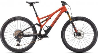 Specialized S-Works Stumpjumper 29 MTB bici completa tamaño S1 satin redwood/smoke/carbono Mod. 2021