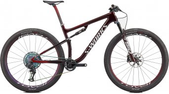 Specialized S-Works Epic Speed of Light Collection 29 bici completa . gloss satin rosso tint chameleon/bianco mod. 2022
