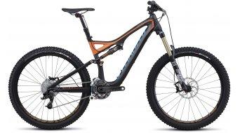 Specialized Stumpjumper FSR Expert Carbon Evo Komplettbike Gr. M charcoal/orange/cyan Mod. 2013
