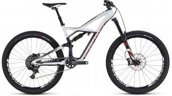 Specialized Enduro FSR Expert Carbon 650B / 27.5 MTB Komplettbike Gr. M gloss navy/white/rocket red Mod. 2016