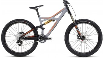 Specialized Enduro FSR Expert Evo 650B / 27.5 MTB Komplettbike satin cool gray/moto orange/slate Mod. 2016