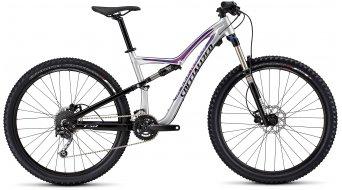 Specialized Rumor FSR 650B / 27.5 MTB Komplettbike Damen-Rad Gr. L gloss flake silver/black/bright pink Mod. 2016