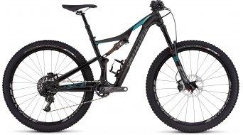 Specialized Rhyme FSR Expert Carbon 650B / 27.5 MTB Komplettbike Damen-Rad gloss carbon/turquoise/charcoal Mod. 2016