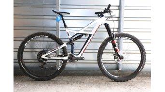 Specialized Enduro FSR Expert Carbon 29 MTB Komplettbike Gr. L gloss navy/white/rocket red Mod. 2016 - TESTBIKE