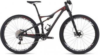 Specialized S-Works Era FSR Carbon 29 MTB Komplettbike Damen-Rad Gr. M satin gloss carbon/rocket red/dirty white Mod. 2016