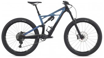 Specialized Enduro FSR Elite Carbon 650B / 27.5 MTB Komplettbike black/marine blue/rocket red Mod. 2017 - TESTBIKE