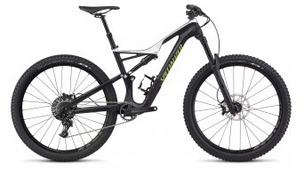 Specialized Stumpjumper FSR Comp Carbon 650B / 27.5 MTB Komplettbike tarmac black/light silver/monster green Mod. 2017
