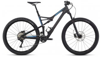 Specialized Camber FSR Comp Carbon X2 29 MTB Komplettbike carbon/neon blue Mod. 2017